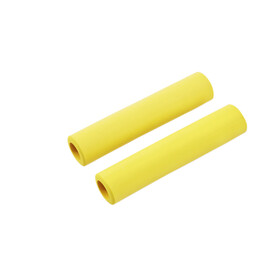 Red Cycling Products Silicon Grip Bike Grips yellow